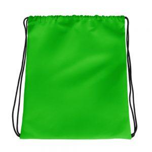 Light Green Drawstring bag
